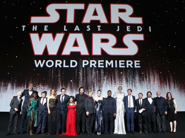 『スター・ウォーズ/最後のジェダイ』ワールドプレミア (C)2017 Lucasfilm Ltd. All Rights Reserved.
