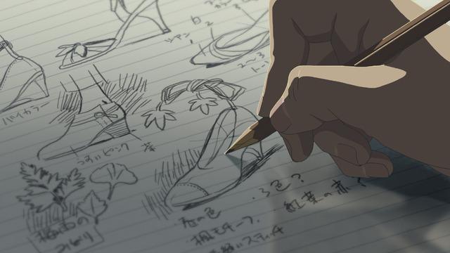 『言の葉の庭』(C) Makoto Shinkai / CoMix Wave Films
