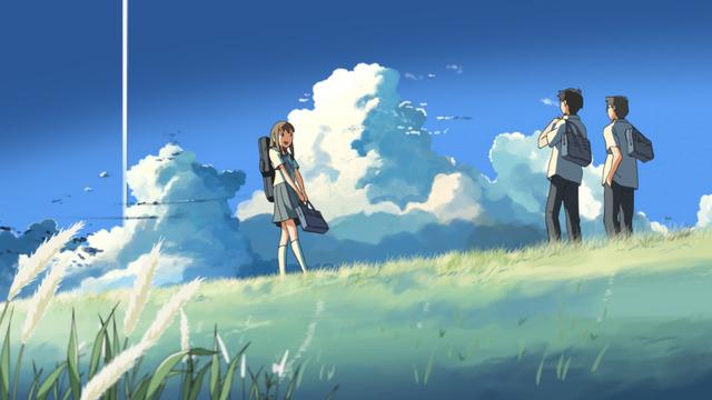 『雲のむこう、約束の場所』(C) Makoto Shinkai / CoMix Wave Films