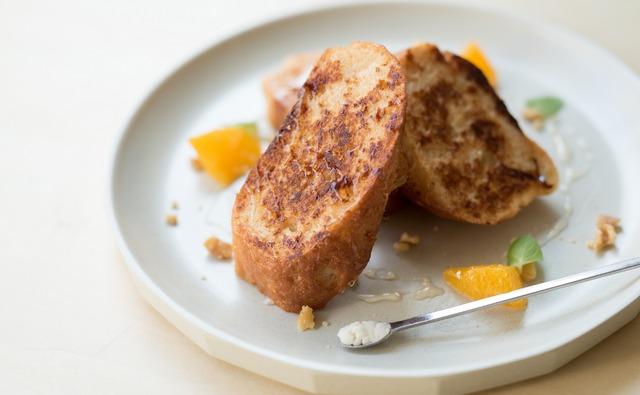 グルテンフリー米粉パン フレンチトースト