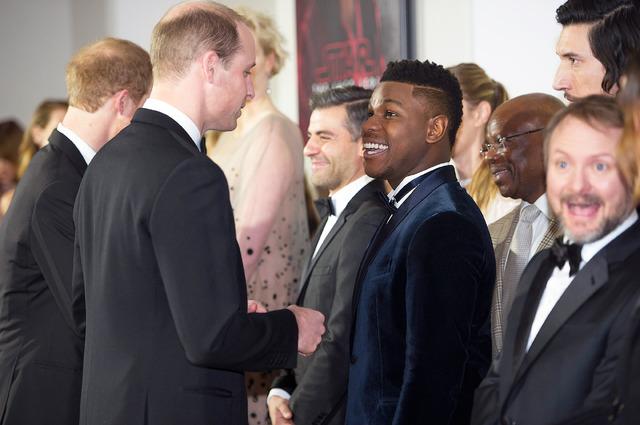 『スター・ウォーズ/最後のジェダイ』&ウィリアム王子&ヘンリー王子-(C)Getty Images