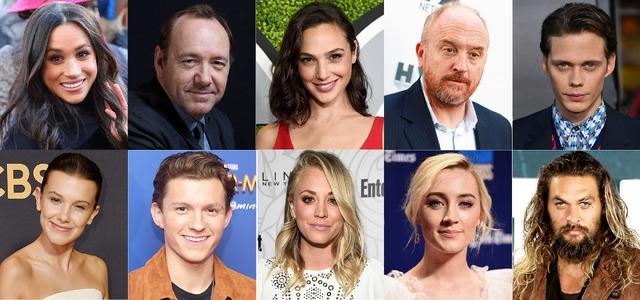 検索サイト「Google」が2017年、最も検索された俳優ランキング-(C)Getty Images
