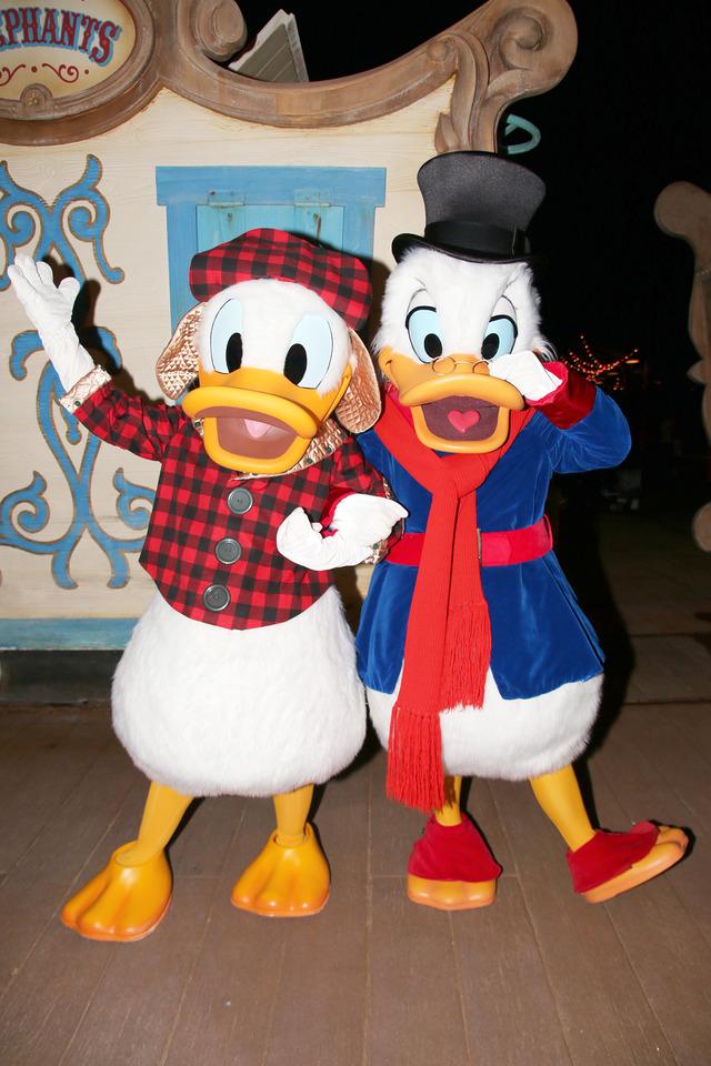 ドナルドダック&スクルージ・マクダック/「ミッキーのベリー・メリー・クリスマス・パーティー」のキャラグリ