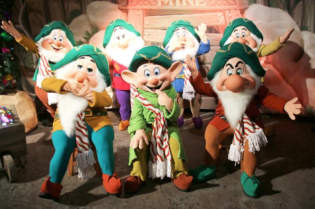 七人のこびと/「ミッキーのベリー・メリー・クリスマス・パーティー」のキャラグリ