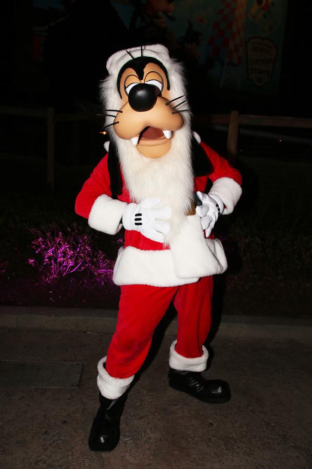 サンタグーフィー/「ミッキーのベリー・メリー・クリスマス・パーティー」のキャラグリ