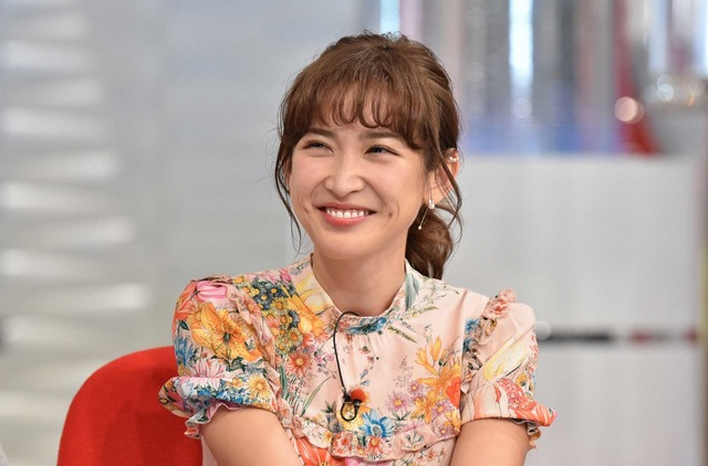 紗栄子「おしゃれイズム」(C)NTV