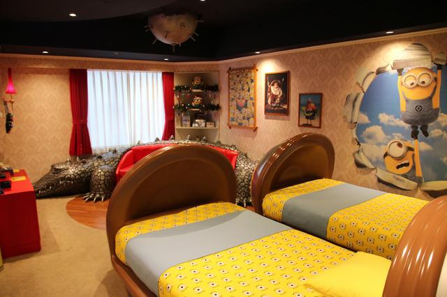 日本初の「ミニオンルーム」