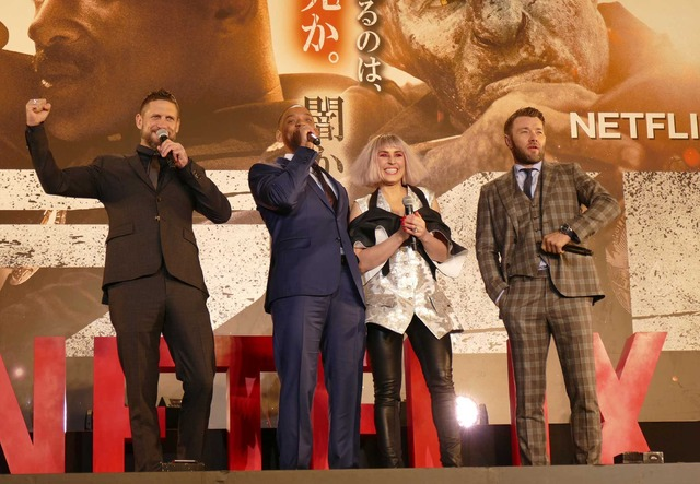 Netflixオリジナル映画『ブライト』ジャパンプレミア