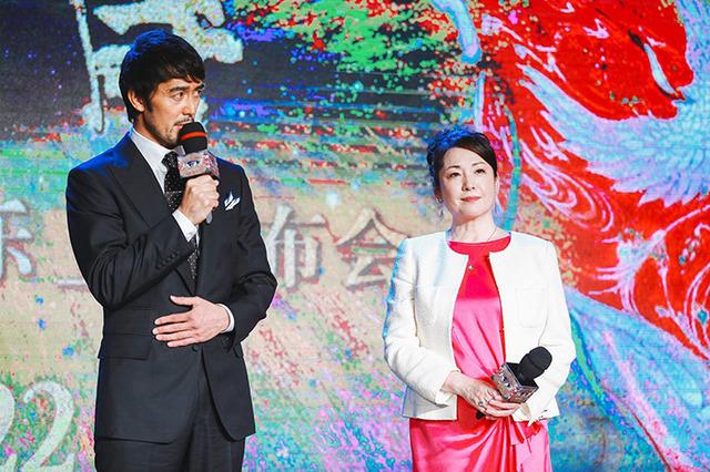 阿部寛&松坂慶子/記者会見