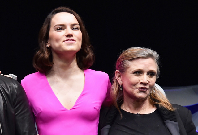 故キャリー・フィッシャー&デイジー・リドリー-(C)Getty Images