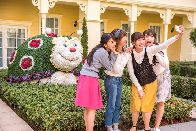 東京ディズニーセレブレーションホテル 中庭