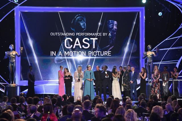 キャスト賞受賞『スリー・ビルボード』-(C)Getty Images