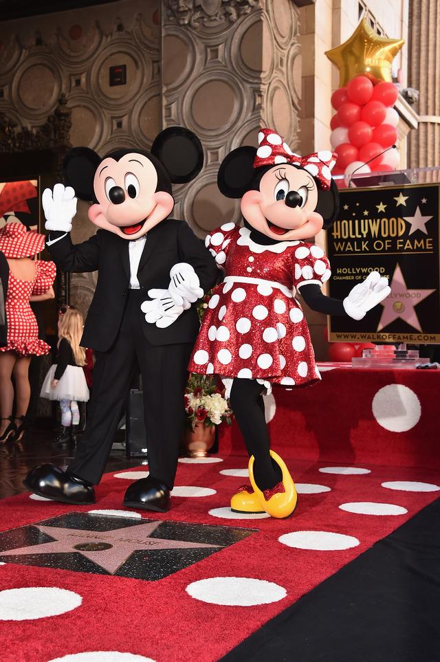 ミッキーマウス&ミニーマウス-(C)Getty Images