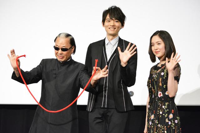 古川雄輝&藤井武美&Mr.マリック『風の色』初日舞台挨拶