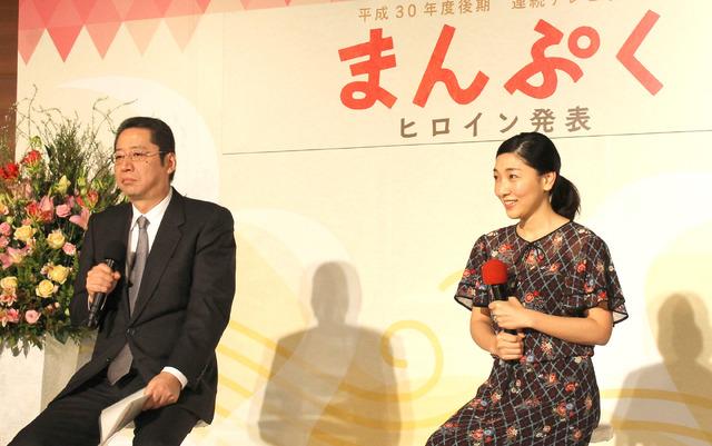 安藤サクラ/NHK連続テレビ小説「まんぷく」記者会見