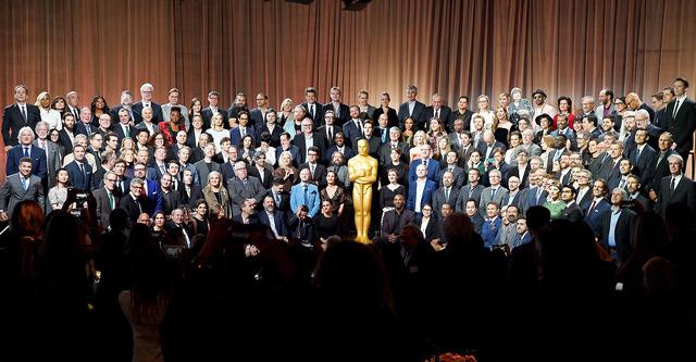 ビバリー・ヒルトンにて開催されたオスカーのランチパーティー-(C)Getty Images