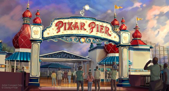 「ピクサー・ピア」/ディズニー・カリフォルニア・アドベンチャー・パーク