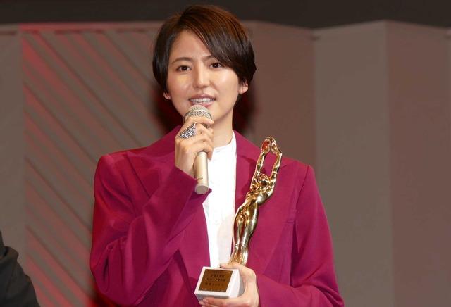 長澤まさみ/「毎日映画コンクール」表彰式