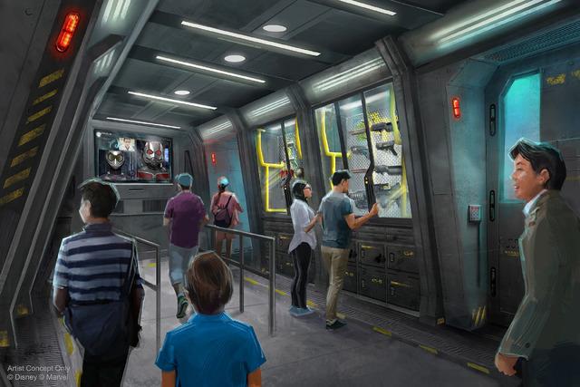 マーベルをテーマとしたライドアトラクション/香港ディズニーランド・リゾート