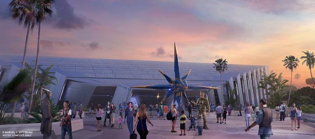 フロリダのウォルト・ディズニー・ワールドのエプコット「Guardians of the Galaxy」