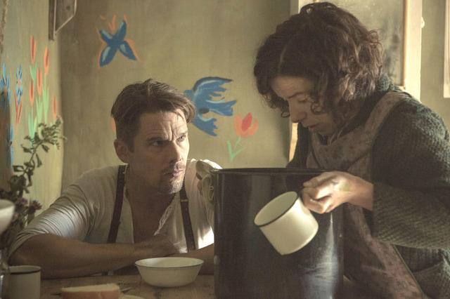 『しあわせの絵の具 愛を描く人 モード・ルイス』-(C) 2016 Small Shack Productions Inc./ Painted House Films Inc./Parallel Films (Maudie) Ltd.