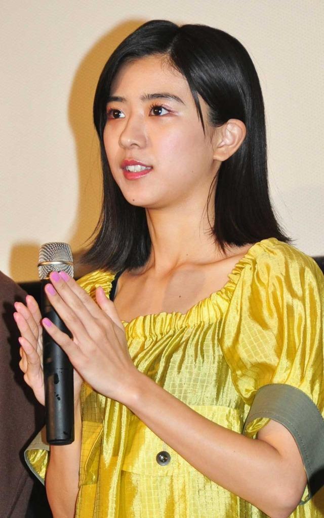 黒島結菜/『プリンシパル~恋する私はヒロインですか?~』初日舞台挨拶