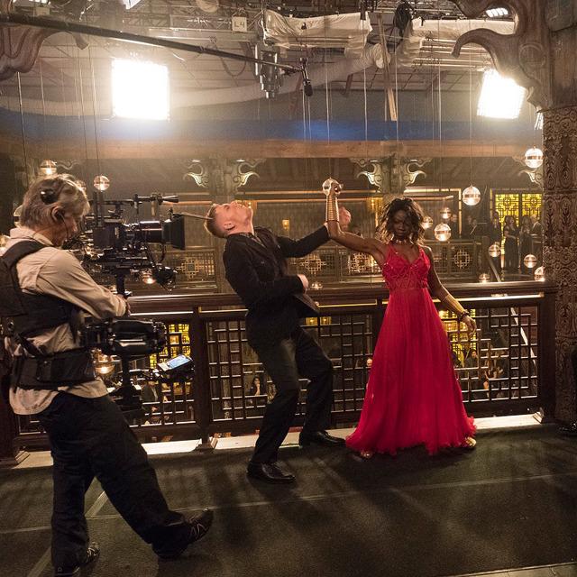 メイキングカット『ブラックパンサー』-(C)Marvel Studios 2018