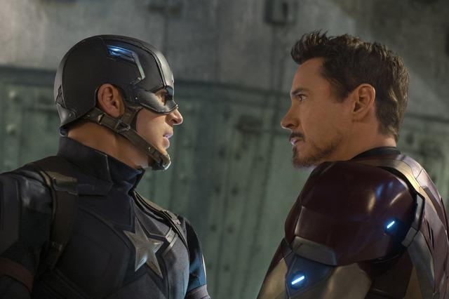 『キャプテン・アメリカ/シビル・ウォー』(C) 2016 Marvel