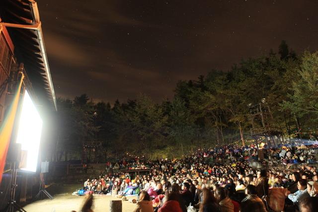 「夜空と交差する森の映画祭2018」 Doryu Takebe ( BLUE STAR MAGAZINE )