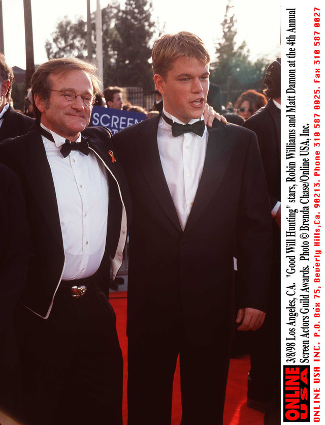 マット・デイモン& ロビン・ウィリアムズ-(C)Getty Images