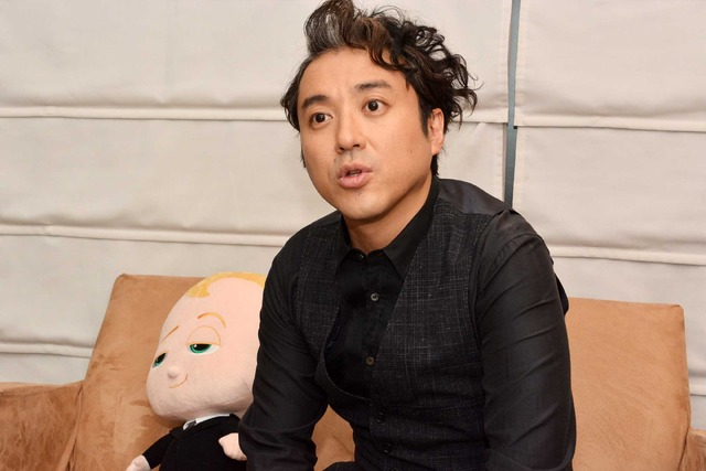 ムロツヨシ『ボス・ベイビー』/photo:Masakazu Isobe
