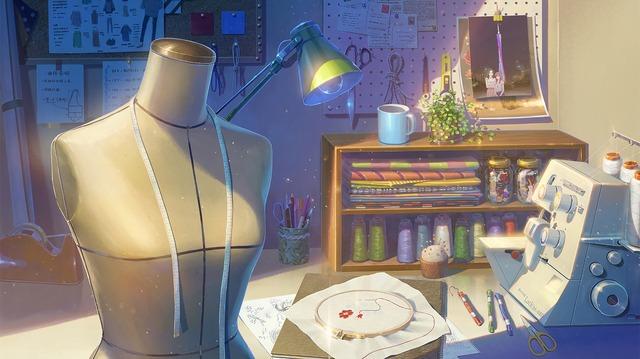 『小さなファッションショー』/『詩季織々』(C)「詩季織々」フィルムパートナーズ