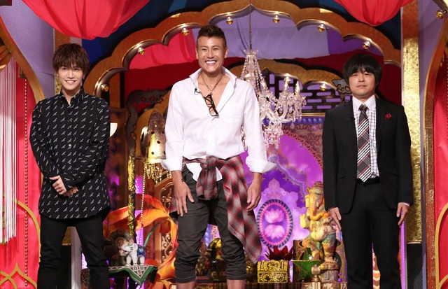 岩田剛典&新庄剛志&バカリズム/「今夜くらべてみました」(C)NTV