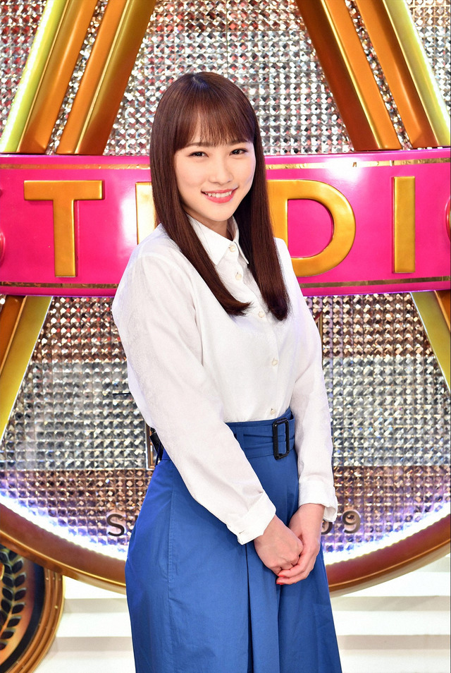川栄李奈「A-Studio」-(C)TBS