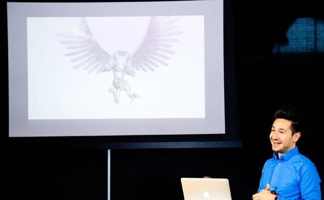 アロンゾ・マルティネス(キャラクター/リギング・アーティスト)『リメンバー・ミー』ピクサー・アニメーション・スタジオ取材