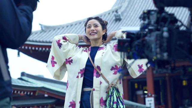 東京メトロ「Find my Tokyo.」新CM「浅草」篇メイキング