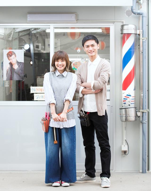 熊本県による復興支援ドラマ「ともにすすむ サロン屋台村」