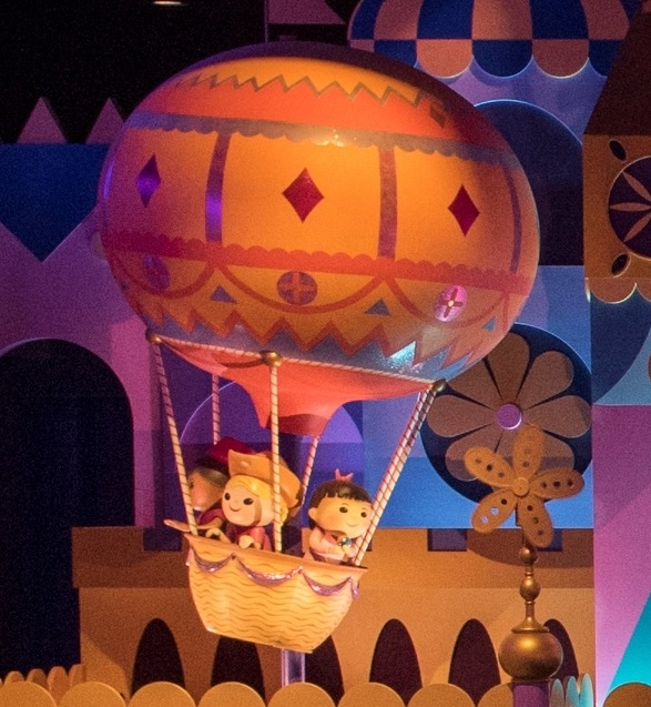 気球で旅行?