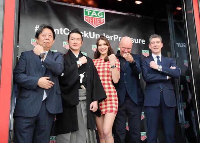 TAG Heuer 銀座 ブティックオープニングセレモニー
