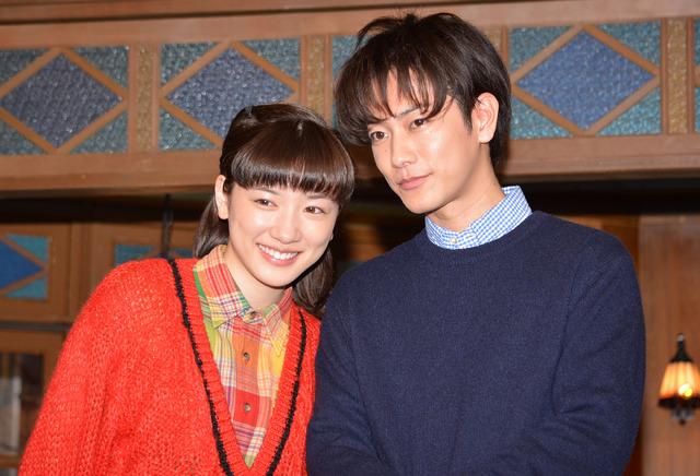 永野芽郁&佐藤健/「半分、青い。」スタジオ取材会
