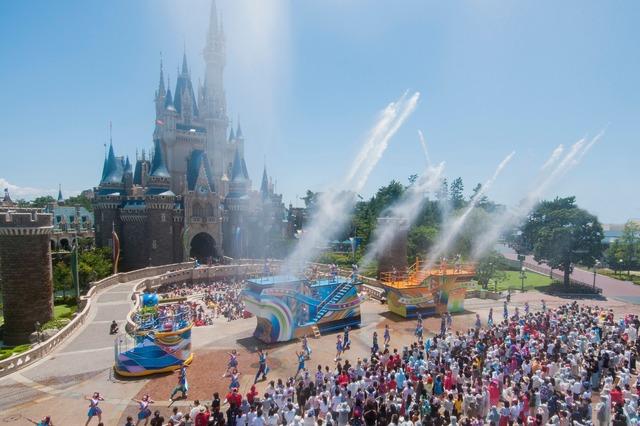 東京ディズニーランド「ディズニー夏祭り」