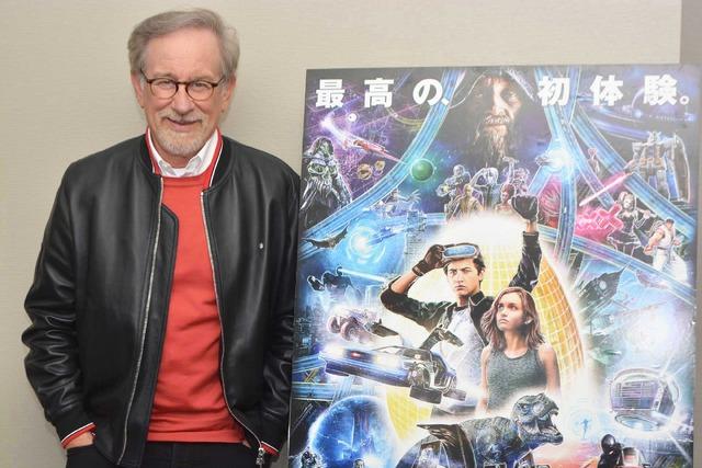 スティーヴン・スピルバーグ監督『レディ・プレイヤー1』/photo:Masakazu Isobe