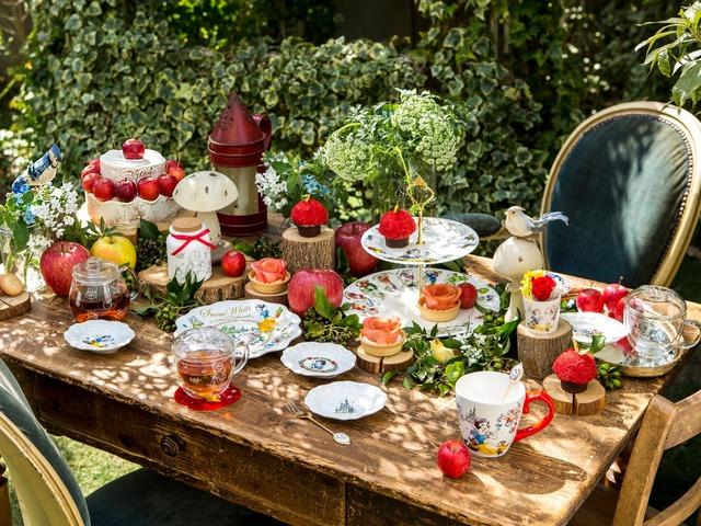 TDRに初登場する「Afternoon Tea」プロデュース商品