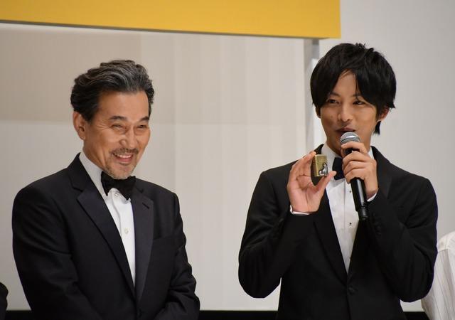 役所広司、松坂桃李/映画「孤狼の血」完成披露試写会