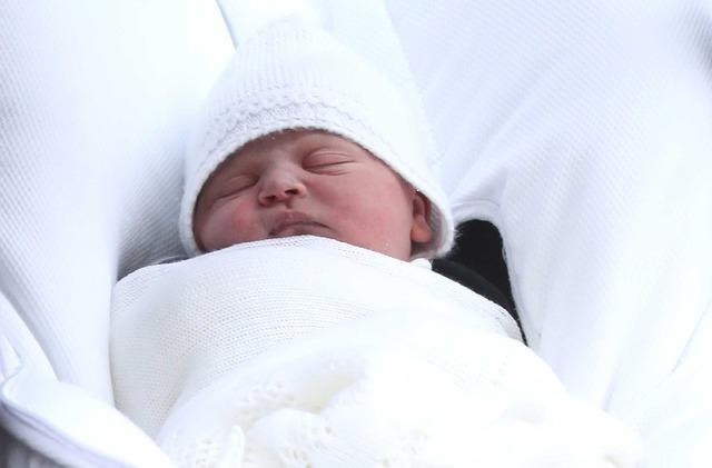ウィリアム王子&キャサリン妃第3子男児(C)Getty Images