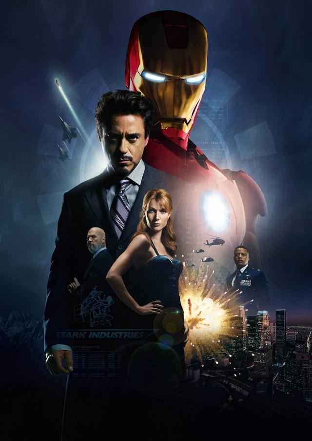 『アイアンマン』(C)2008 MVL Film Finance. All Rights Reserved.
