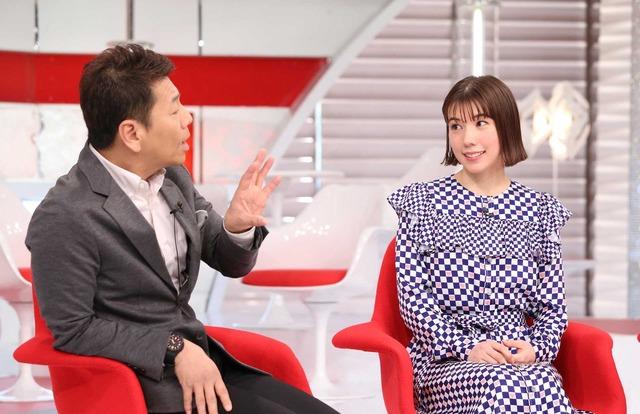 仲里依紗「おしゃれイズム」(C)NTV