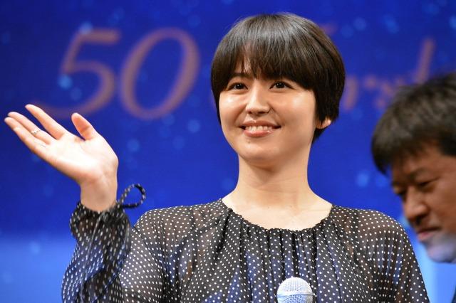 長澤まさみ/『50回目のファーストキス』完成披露試写会