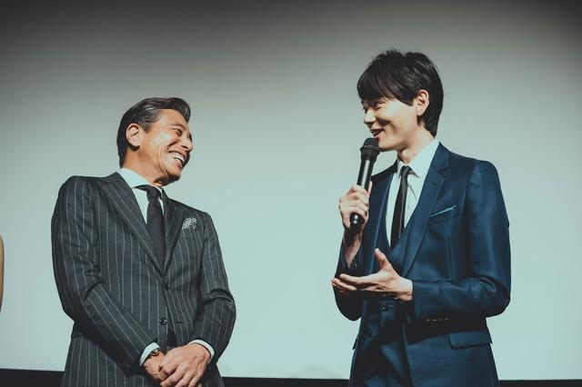 WOWOW 連続ドラマW「60 誤判対策室」完成披露試写会にて