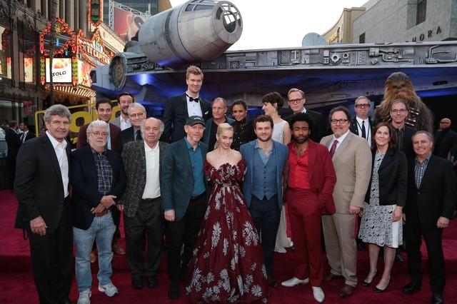 『ハン・ソロ/スター・ウォーズ・ストーリー』ワールドプレミア(C)2018 Lucasfilm Ltd. All Rights Reserved.